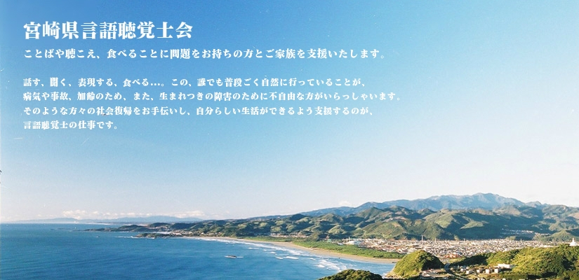 宮崎県言語聴覚士会の紹介